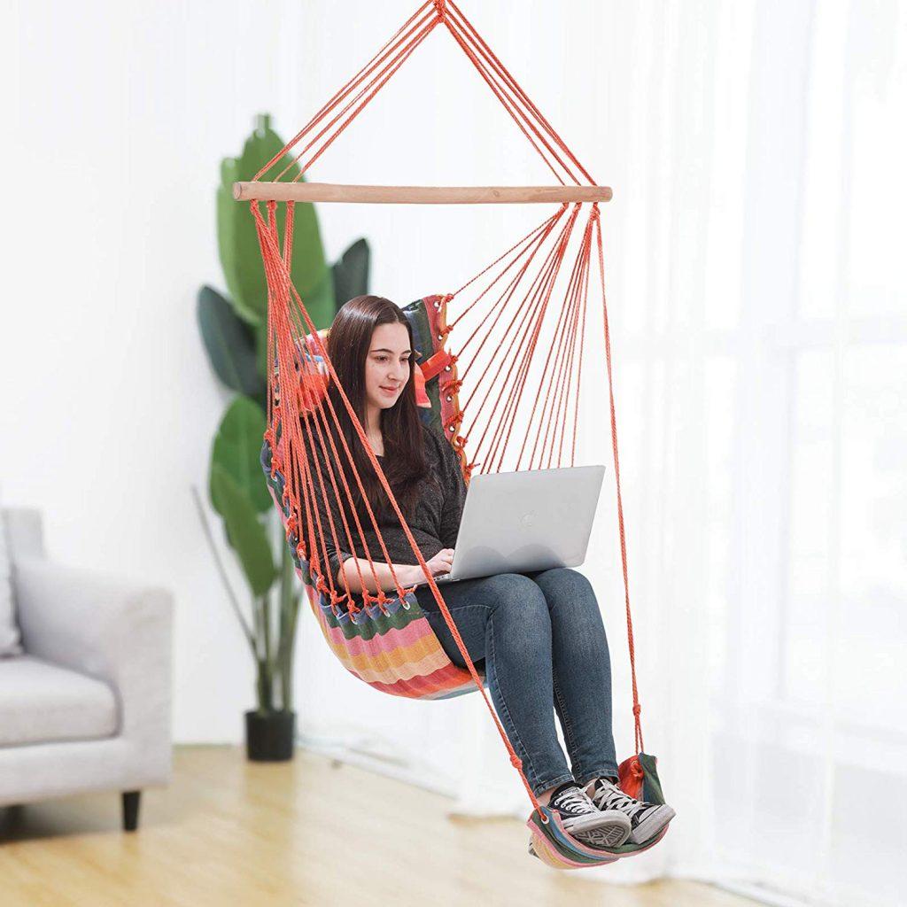 hamacas colgantes, mejores ofertas de sillas hamacas, Hamaca silla columpio barata