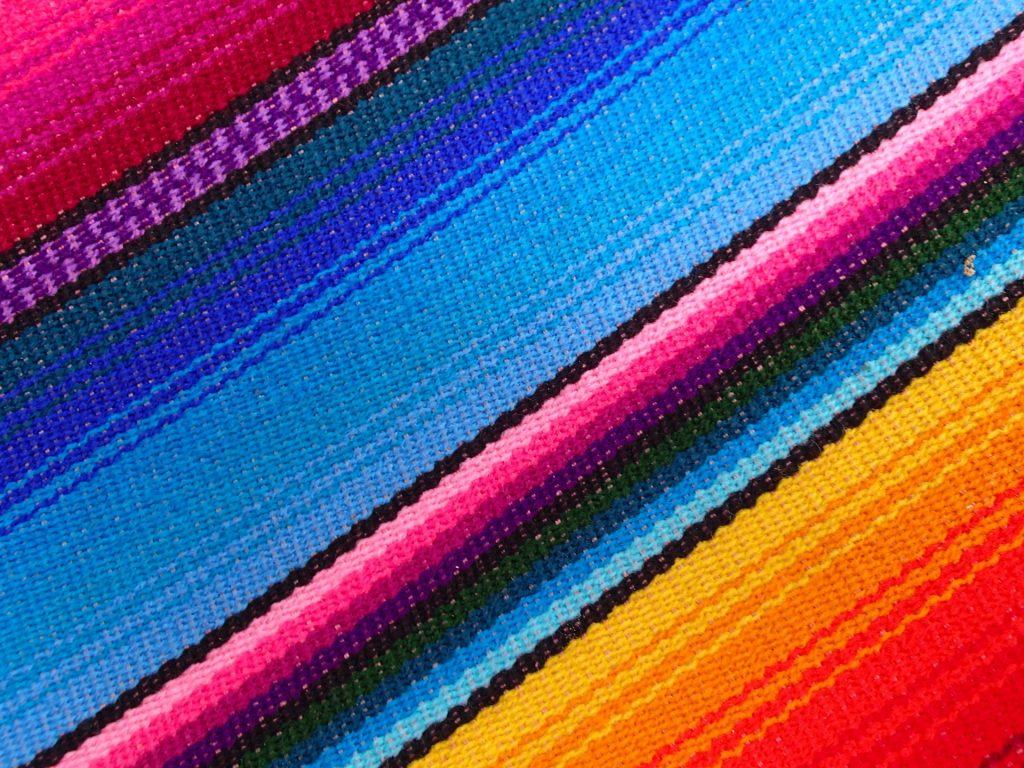 Hamacas mexicanas coloridas y sin nudos