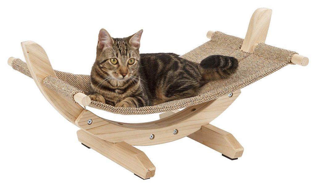 Hamacas para gato de madera