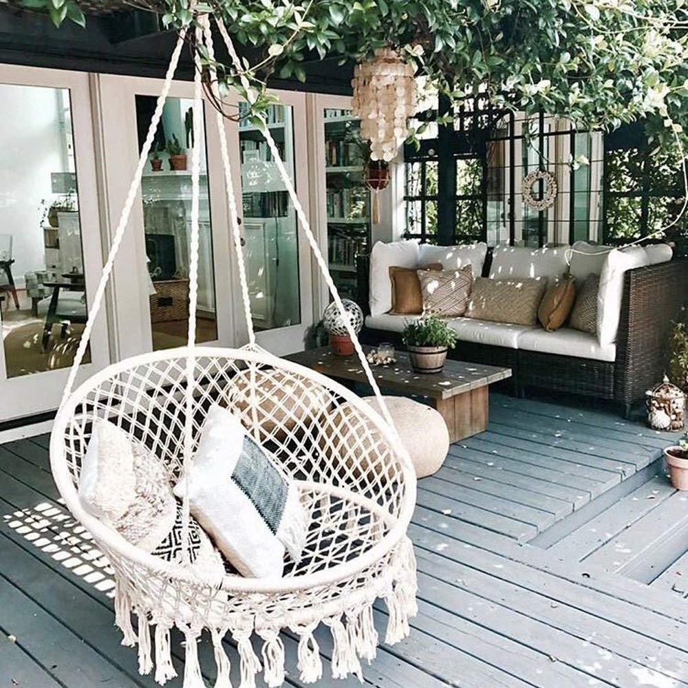 sillas colgantes baratas, Silla hamaca jardín colgante