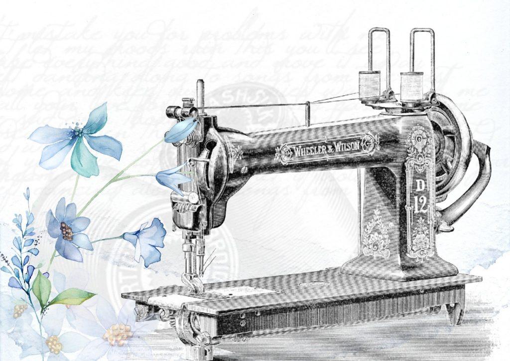 coser hamaca con máquina de coser